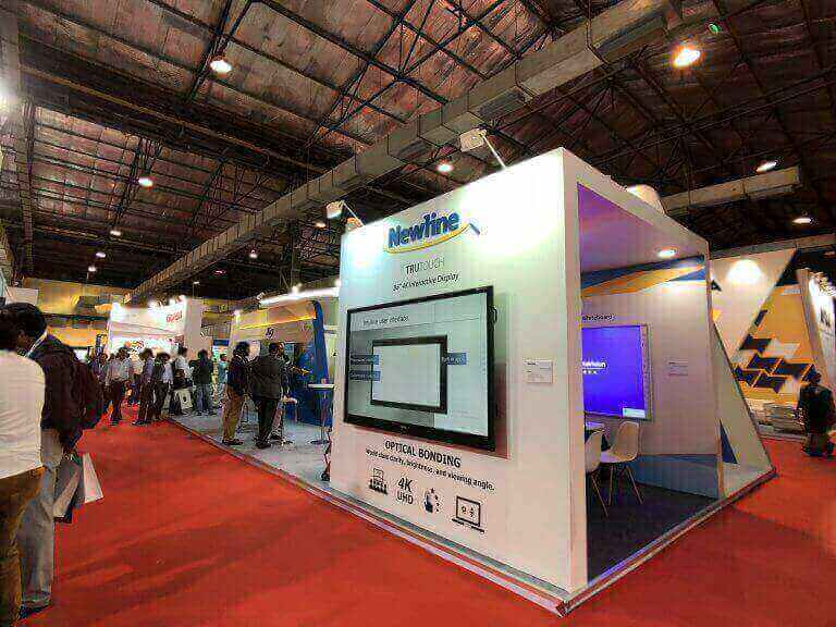 Newline Interactive announces debut of latest innovations during InfoComm India 2018
