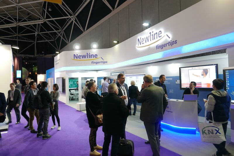 Newline Interactive Showcased the Latest Collaboration Solutions at ISE