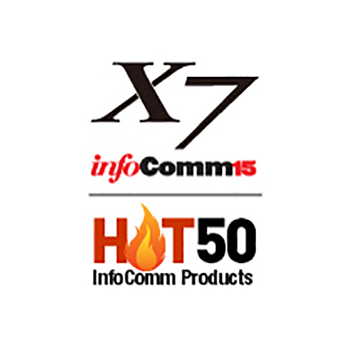 The TRUTOUCH X Series was listed as a Hot 50 product at Infocomm 2015, placing it in the top 50 new products garnering attention at the nation's largest A/V trade show.