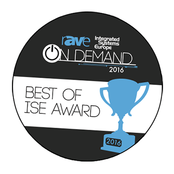 rAVe Publications awarded the TRUTOUCH X5 their Best New Interactive Flat Panel Display award at ISE 2016.