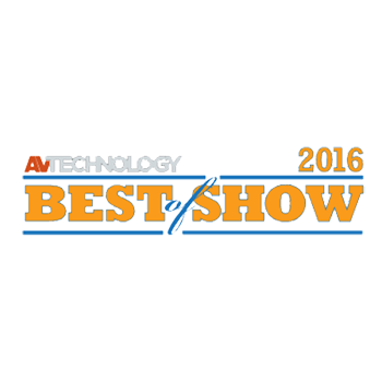 AV Technology named the all-in-one TRUTOUCH X Series unified collaboration system a Best of Show at Infocomm 2016