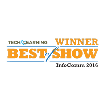 For their success in the classroom, the TRUTOUCH interactive display was named a Best of Show at InfoComm 2016 by Tech&Learning