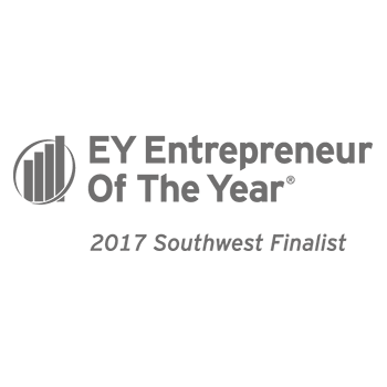 For the third year in a row, president Chris Bradford and CEO Kevin Wang were named Finalists in the Ernst & Young Entrepreneur of the Year program.