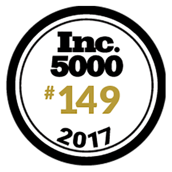 Inc. magazine named Newline Interactive no. 149 on its prestigious annual Inc. 500, an exclusive ranking of the fastest-growing private companies in the United States, based on Newline's amazing three-year growth rate of 2,587.6%.