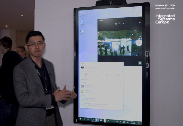 ISE 2019: Newline All-in-One Screen Solution