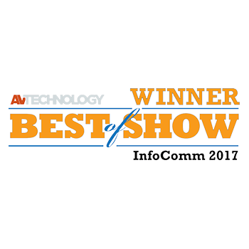 TRUTOUCH VN系列被 AV Technology雜誌評為 InfoComm Best in Show產品 。