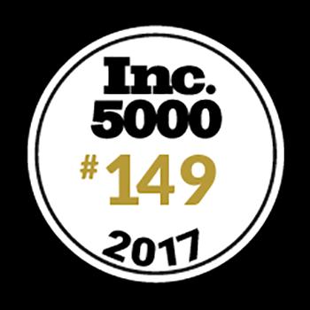 Inc. Magazine在其著名的年度公司500強中名為Newline Interactive#149,這是美國發展最快的私營公司的獨家排名,基於Newline驚人的三年增長率2,587.6%。