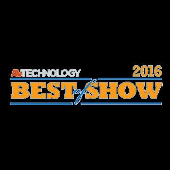 AV Technology將全方位 TRUTOUCH X系列統一協作系統評選為 Infocomm 2016的 Best of Show