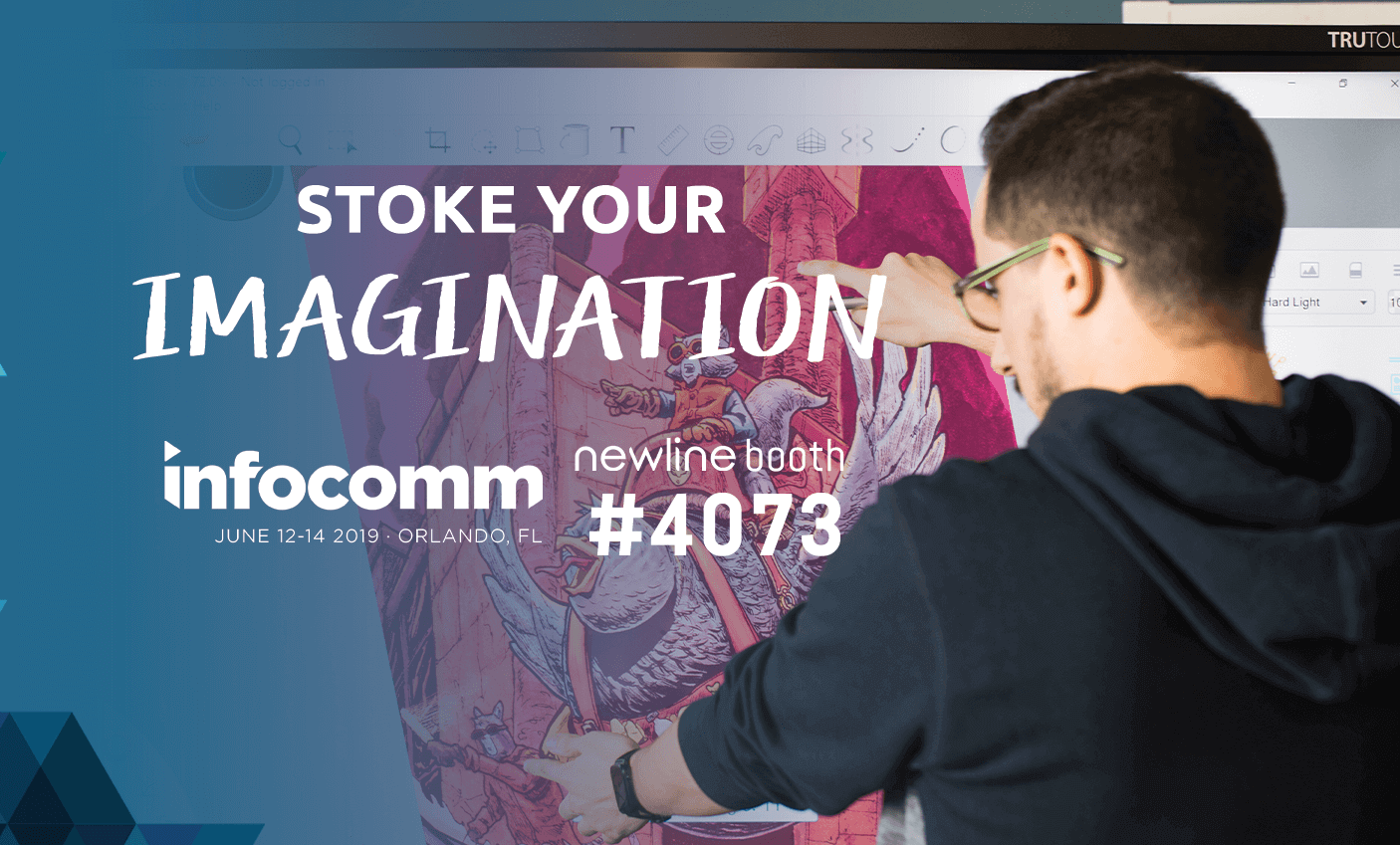Newline reveals new interactive display series lineup at InfoComm 2019