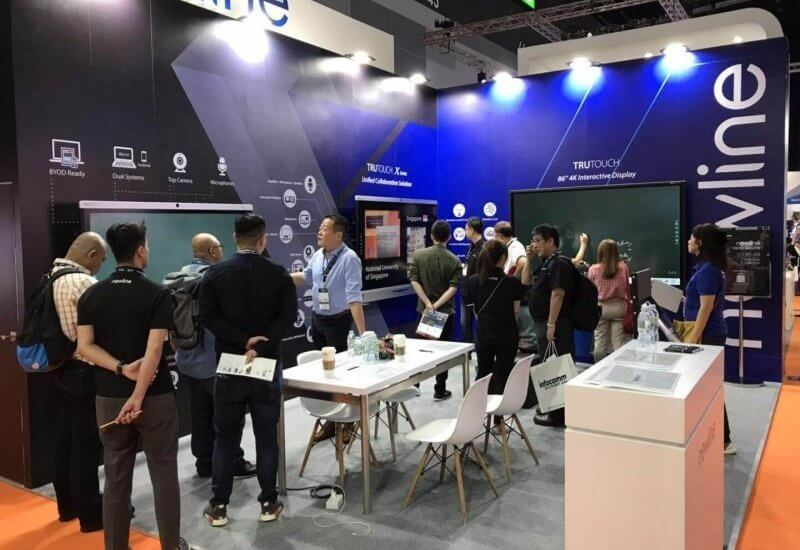 Newline unveils collaboration solutions at InfoComm SEA 2019