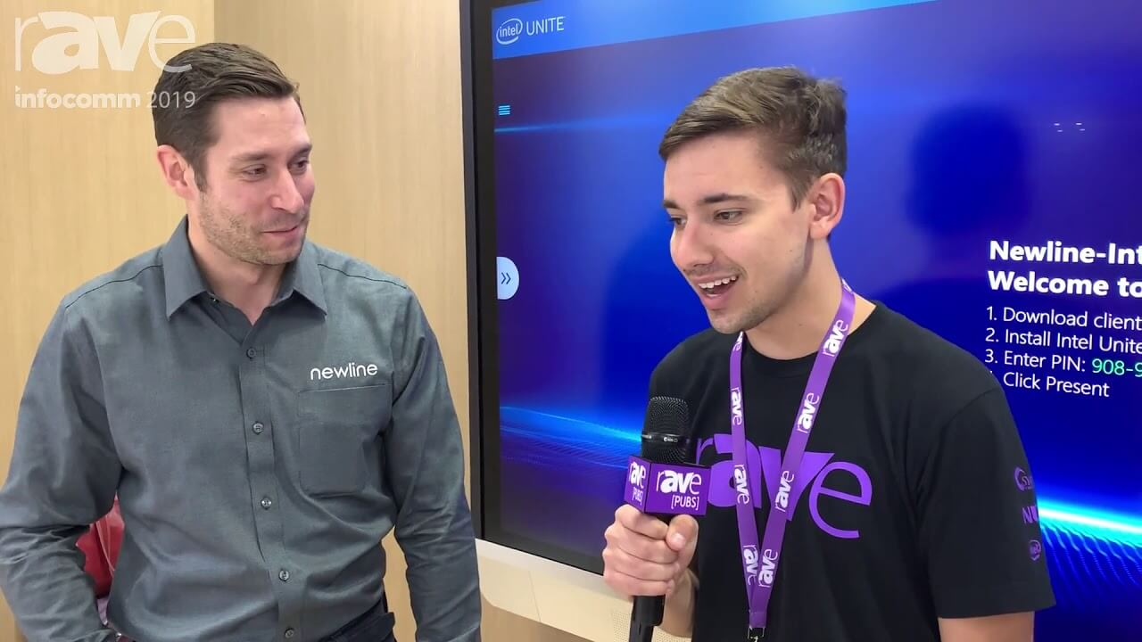 InfoComm 2019 Jacob Blount and Newlines Tyler Rittenhouse Talk About Intel UNITE Partnership