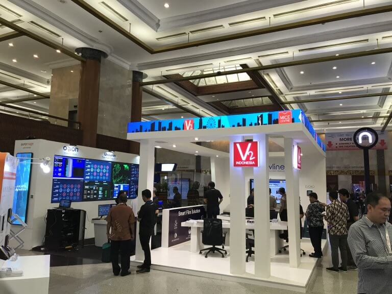 Newline partners with PT V2 Indonesia, Unveiling UC Solutions at IISMEX 2019