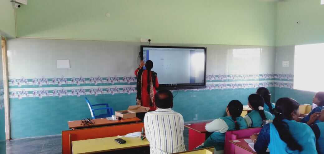 Smart classroom setup