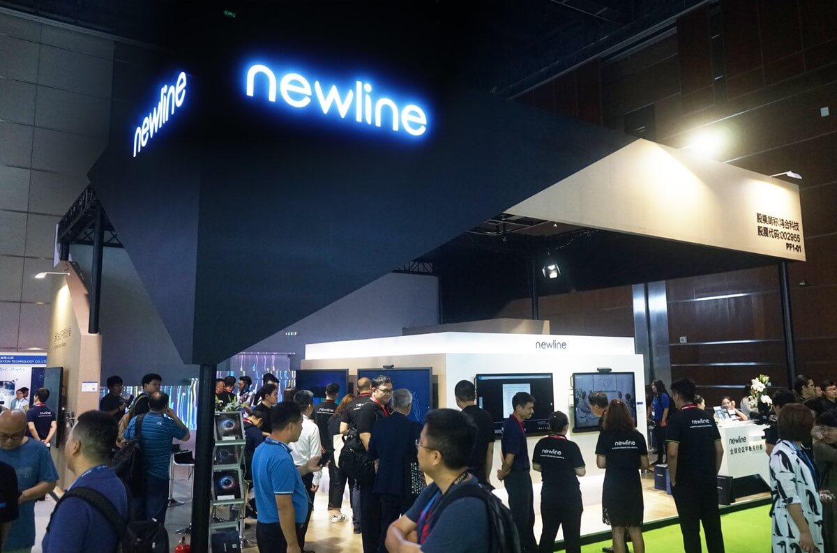 Newline showcased new collaboration solutions at InfoComm China 2019