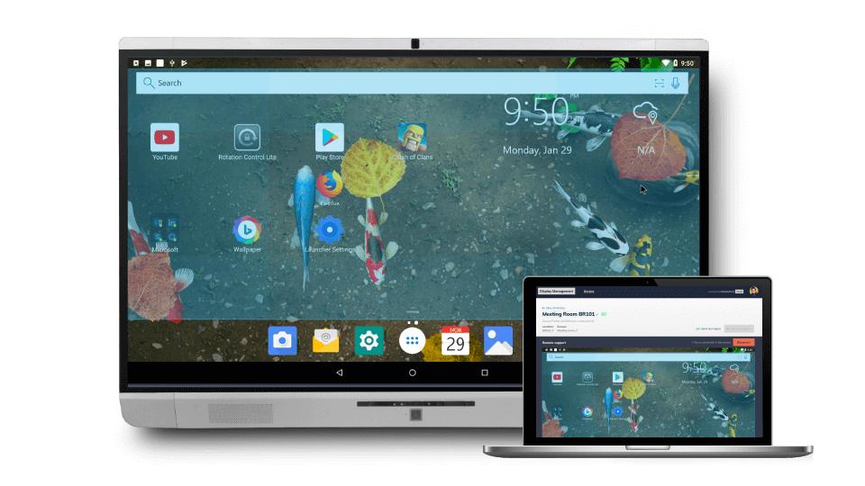 newline Display Managementにより、すべてのNewlineディスプレイをリモートでサポートできます