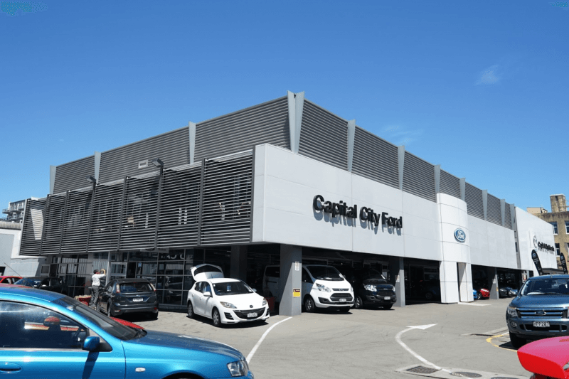 Capital City Ford, New Zealand
