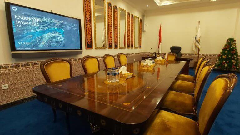 ジャヤプラリージェントオフィス, インドネシア