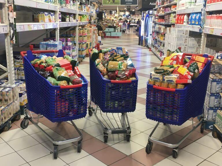 We have donated over 300 kg of non-perishable foods!