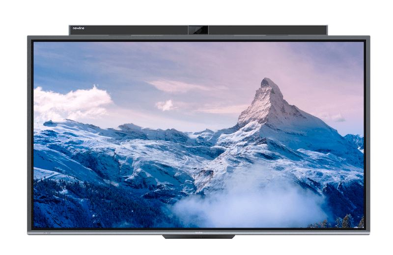 PTC Series features an all-in-one 4K collaboration display, ideal for corporate environments that require video conference capabilities