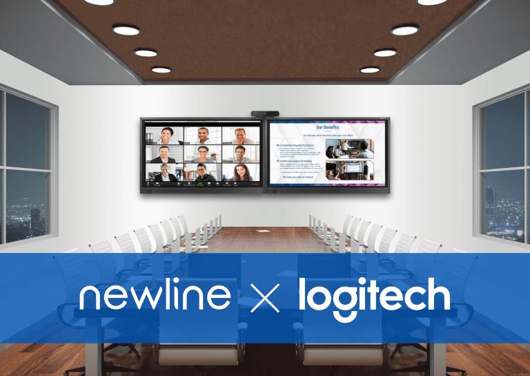 Newline Bekerja Sama dengan Logitech untuk Pengiriman Berkas dengan cara Solusi Konferensi Video