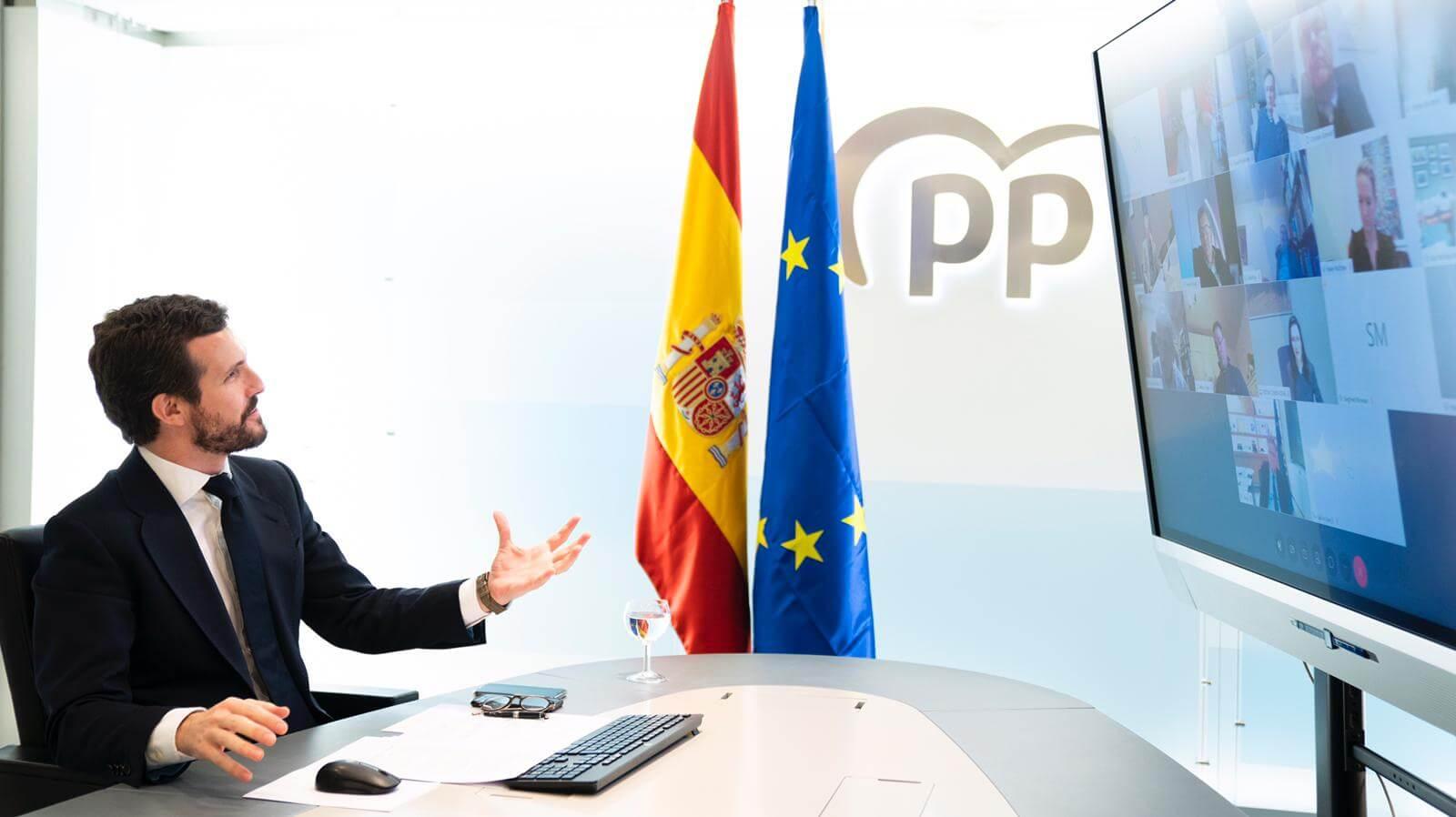 Pablo Casado Pantalla