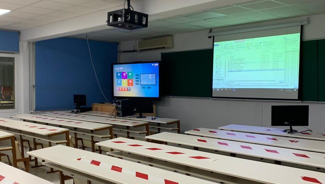 Universidad Politécnica de Madrid y Newline