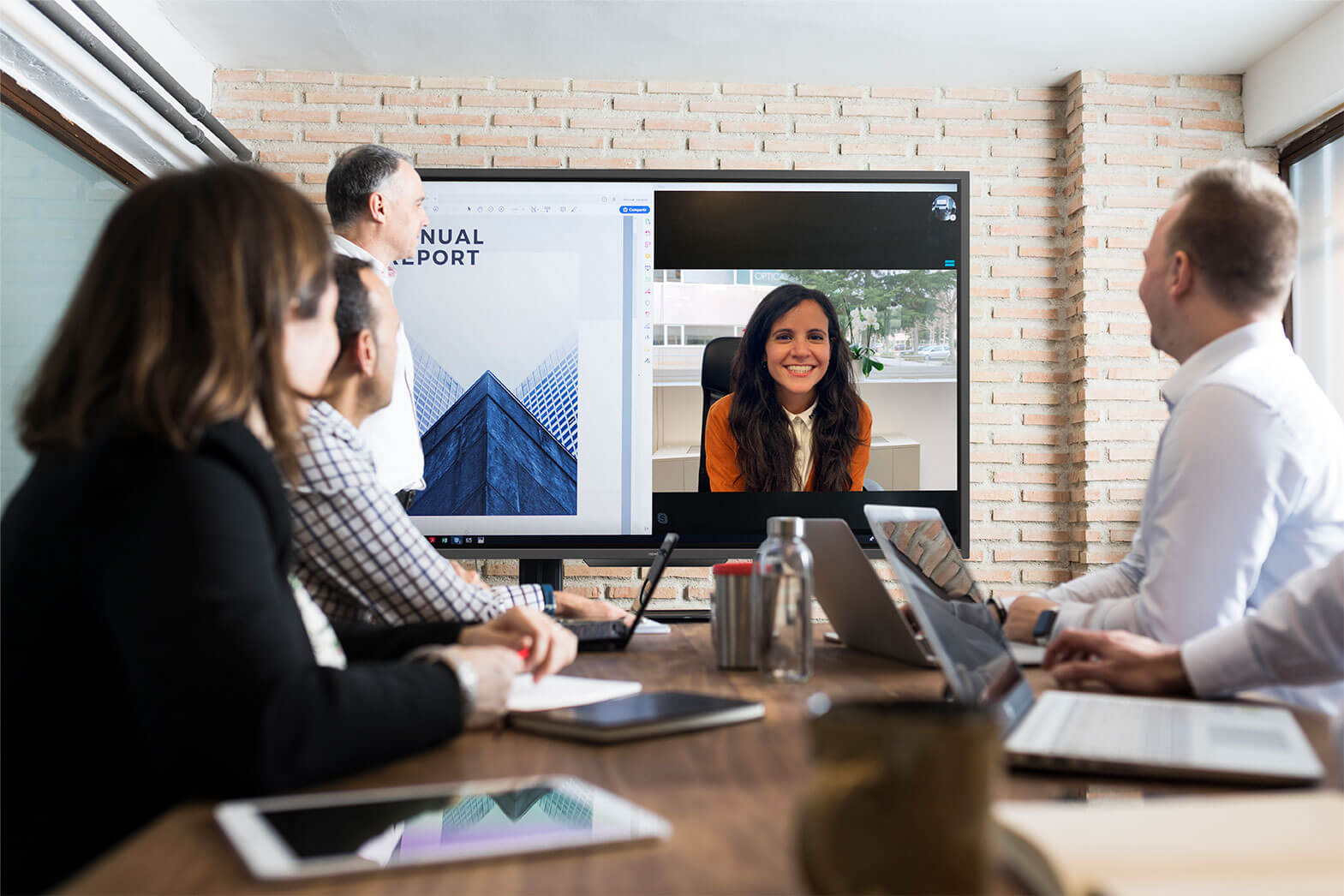 Find out how interactive displays are driving telework