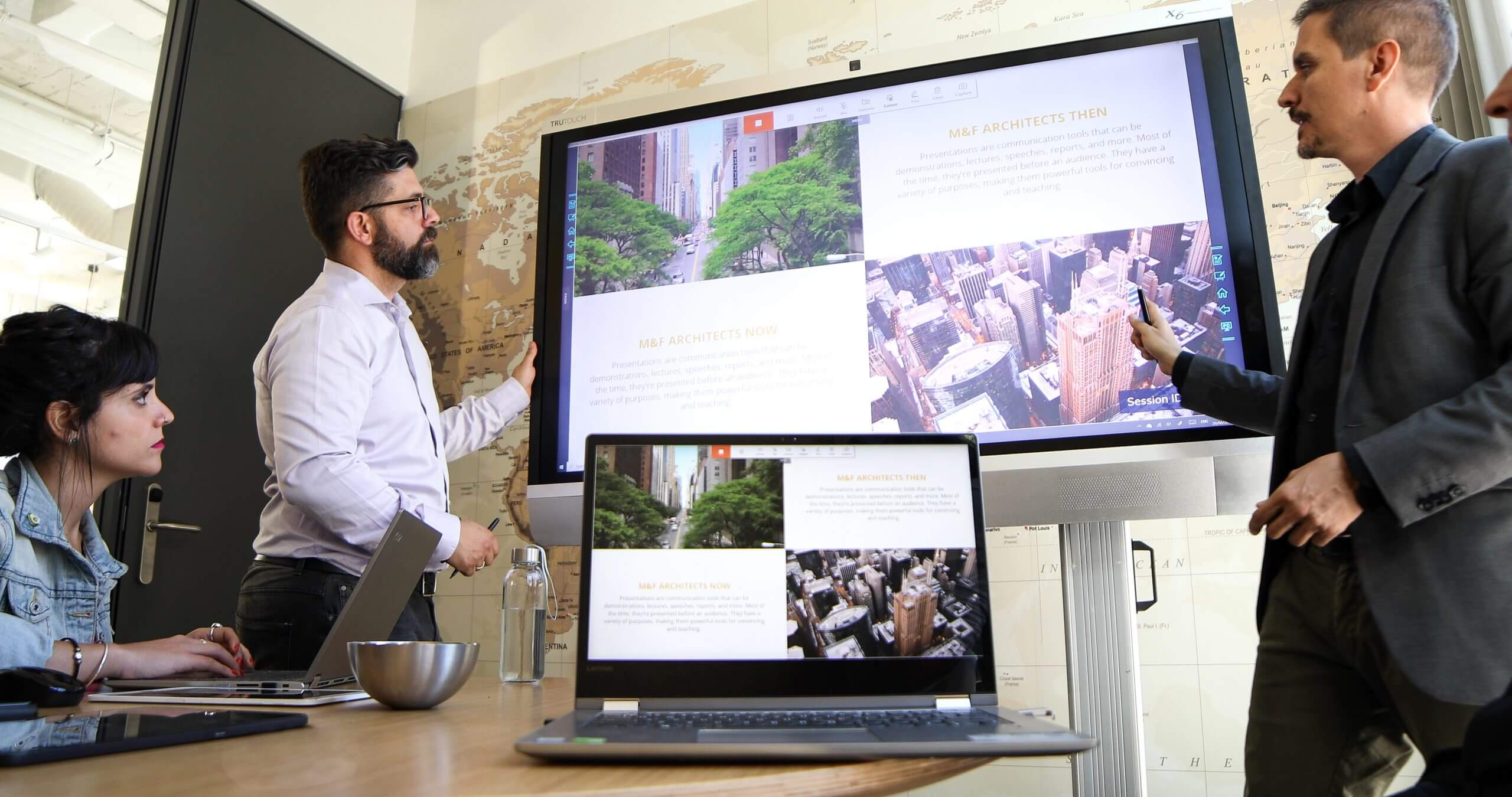 casting, share screen, presentation
