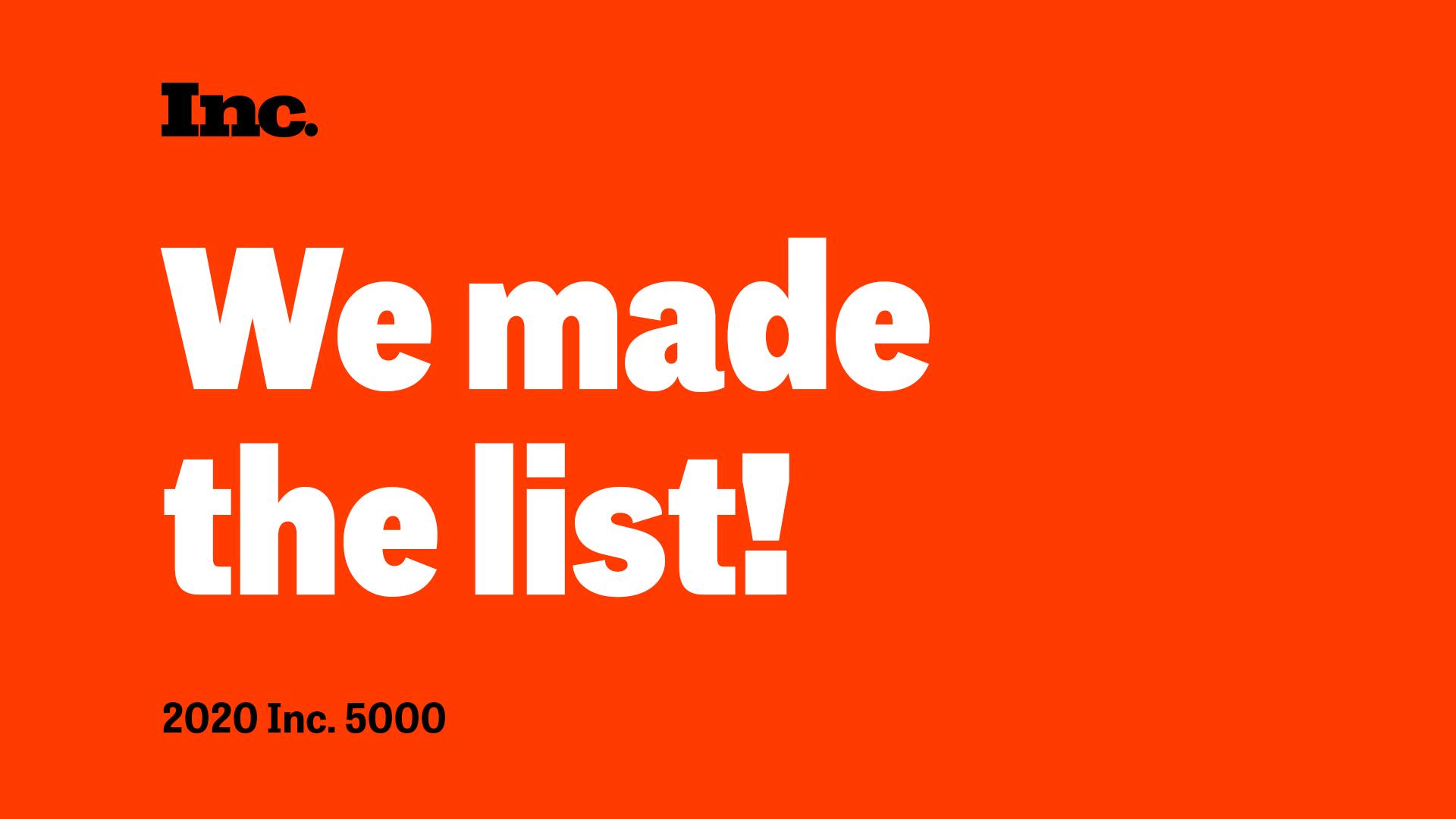 Newline Interactive 2020 Inc. 5000