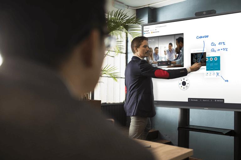 Diferencias entre pantallas interactivas y pizarras interactivas