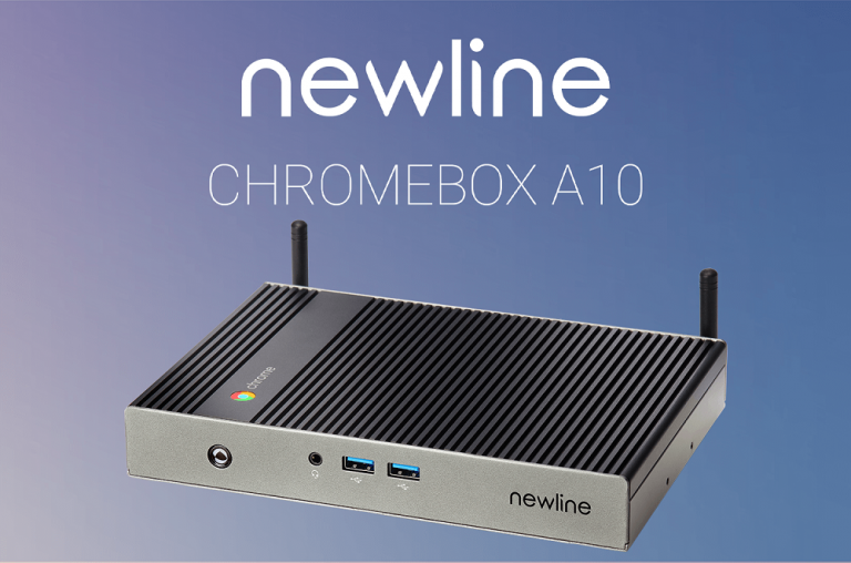 Newline Chromebox A10: Google-Power für den Klassenraum