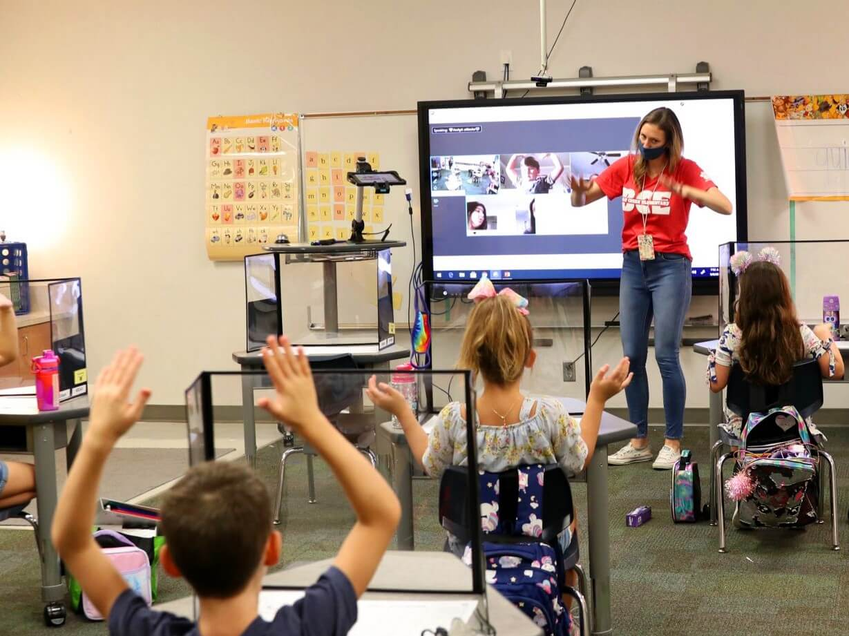 RS & RS+ Series interactive touch displays for Grapevine-Colleyville schools