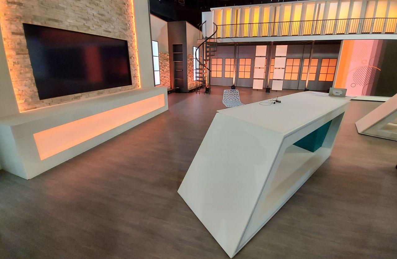 Interactive displays: Newline live on Aragón TV
