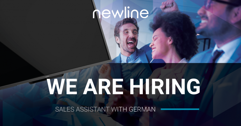 Newline is Hiring! Sales Assistant with German