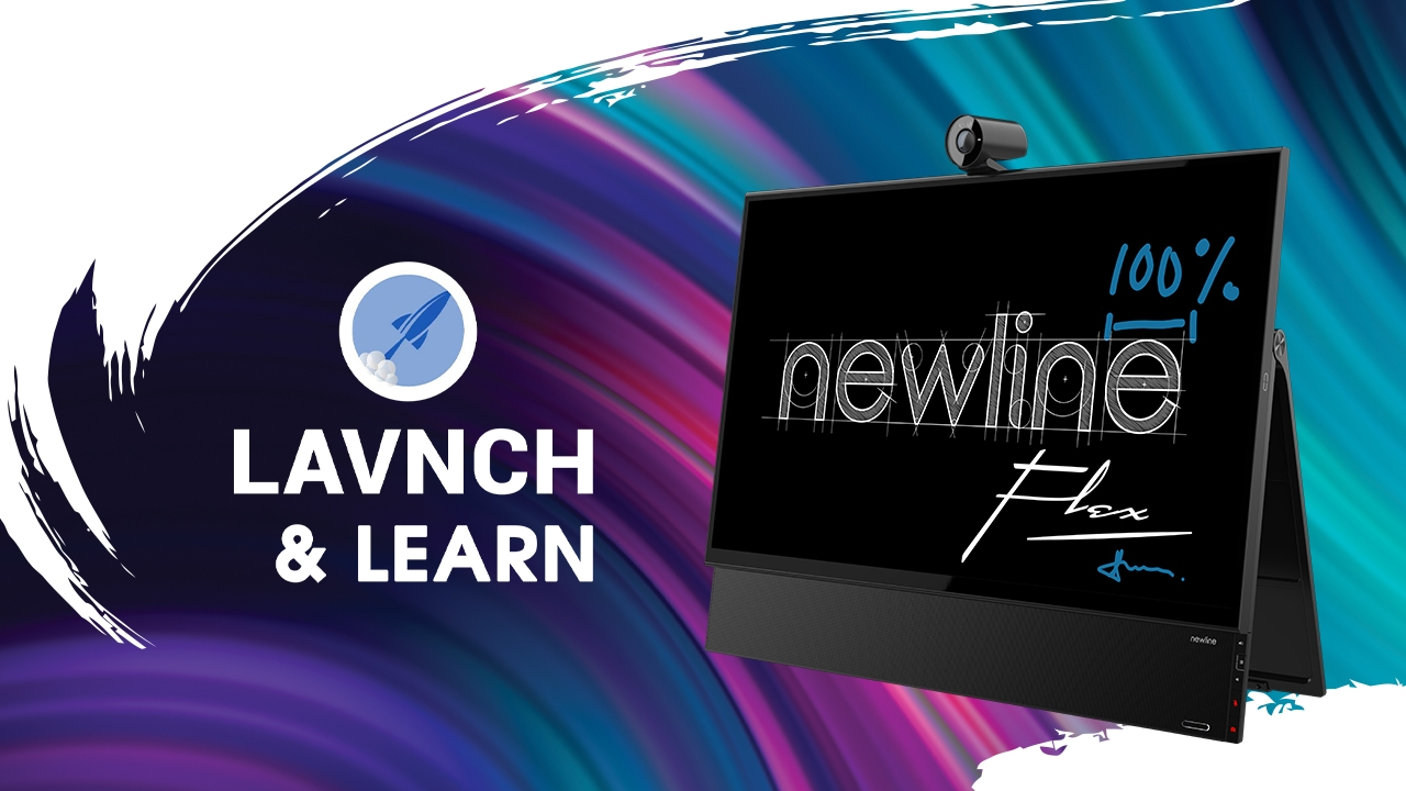 Lavnch & Learn | Newline Flex