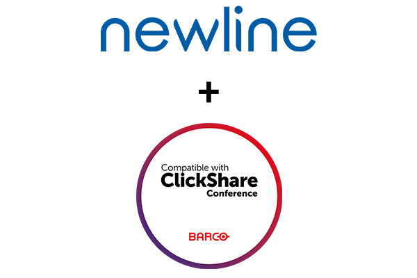 Newline Compatible with ClickShare Conference