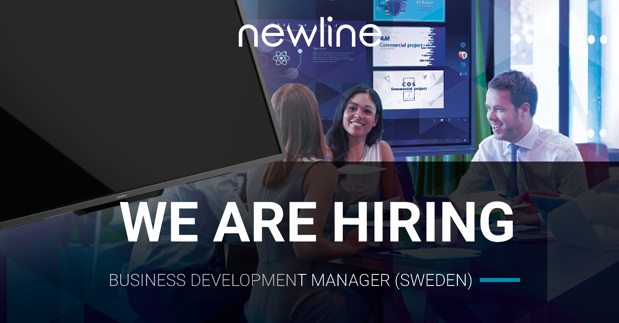 Newline is Hiring! Business Development Manager (Sweden)