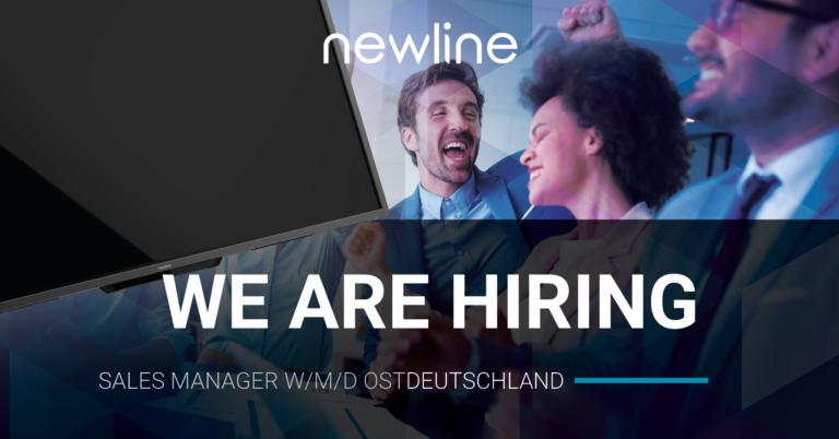 Newline is Hiring! Sales Manager Ostdeutschland