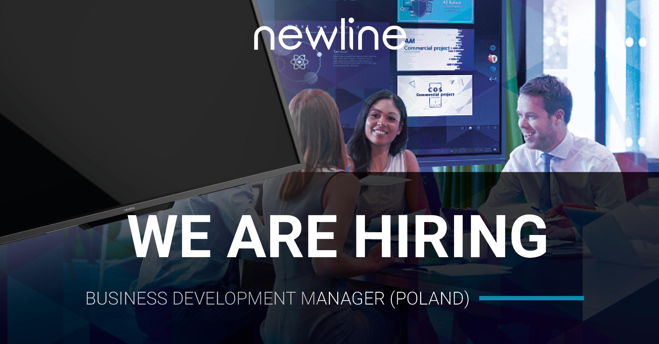 Newline is Hiring! Business Development Manager (Poland)
