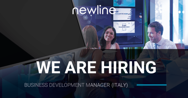 Newline is Hiring! Business Development Manager (Italy)