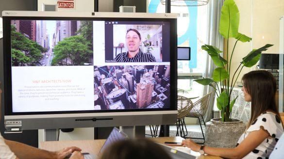 Newline videoconferenza